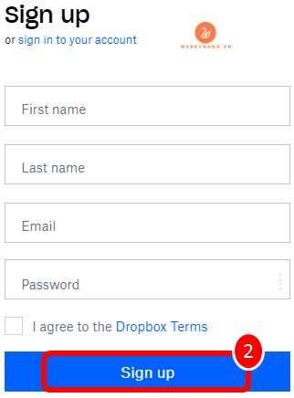 dang ky tai khoan dien toan dam may tai dropbox com