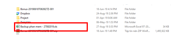 chuyển đổi dữ liệu giữa các bản update